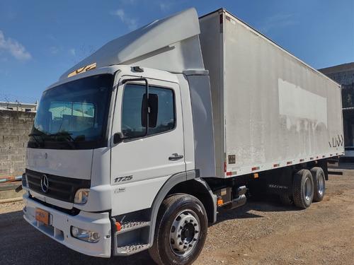 Imagem 1 de 15 de Mb Atego 1725 Truck Bau De Aluminio 2007 2425