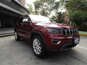 Jeep Grand Cherokee 5p Limited Lujo,ta,piel,qc,gps,ra20