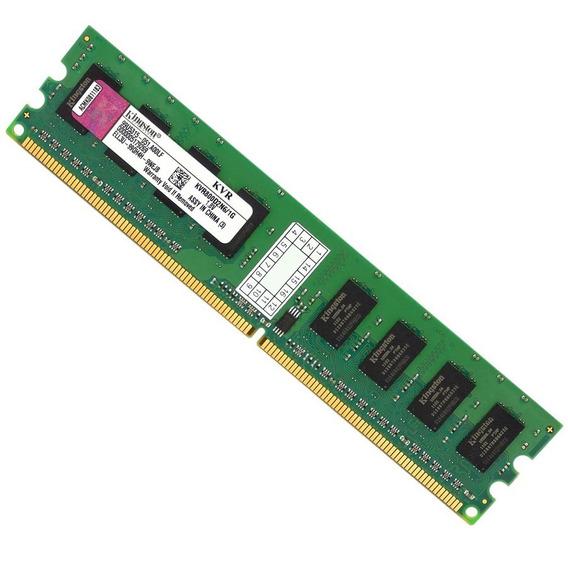2x Kvr800d2n6-1g Memória Kingston 1gb Ddr2 800mhz P/ Desktop