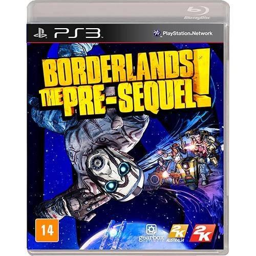Borderlands: The Pre-sequel! - Ps3 Físico Novo E Lacrado