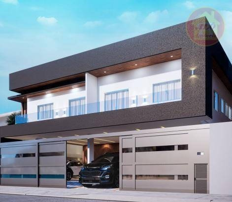 Casa Com 2 Dormitórios À Venda, 59 M² Por R$ 270.000 - Mirim - Praia Grande/sp - Ca1354