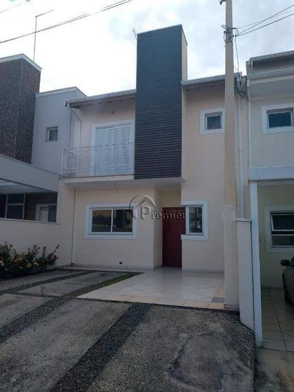 Sobrado Com 3 Dormitórios Para Alugar, 128 M² Por R$ 2.400/mês - Portal Das Acácias - Indaiatuba/sp - So0281