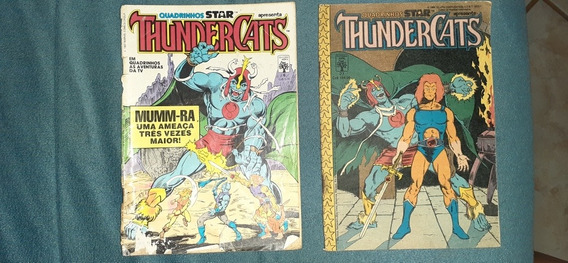 2 Revistas Em Quadrinhos = Thundercats Anos 1987 E 1988