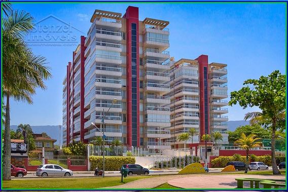 Apartamento De Temporada Com 3 Quartos (1 Suíte) Com Vista Para O Mar No Centro De Bertioga - Ap00228 - 34401540