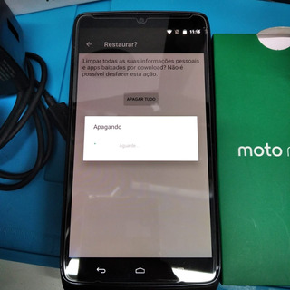 Motorola Moto Maxx Xt1225. Defeito No Microfone Apenas.