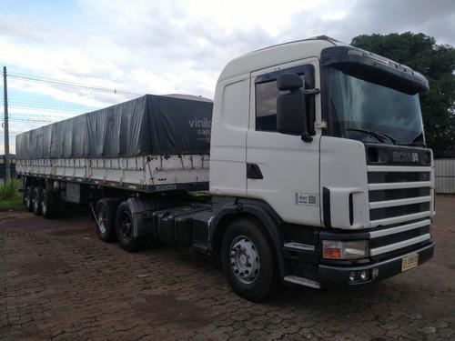 Scania R114 Ga380/06 6x2  Motor Feito Recente Só O Cavalo