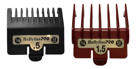 Kit Alzas Babyliss Pro #0.5 Y #1.5 Sombreado Fade Barbería