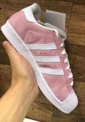 Tenis adidas Superstar Aux 3 Feminino Branco Original Na Cx