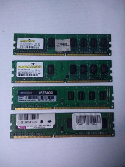 Memorias Ram Ddr2 Ddr3 2gb Y 1gb