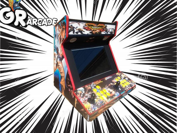 Bartop Arcade Multijogos (frete Gratis)