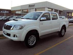 Toyota Hilux Srv 3.0l 4x2 Cuero M/t Color Blanco Año 2013