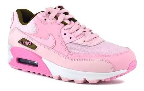 Zapatillas Nike Air Max 90 Mujer Rosas Originales