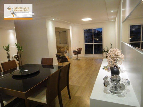 Imagem 1 de 30 de Apartamento Com 2 Dormitórios À Venda, 89 M² Por R$ 550.000,00 - Jardim Aida - Guarulhos/sp - Ap0539