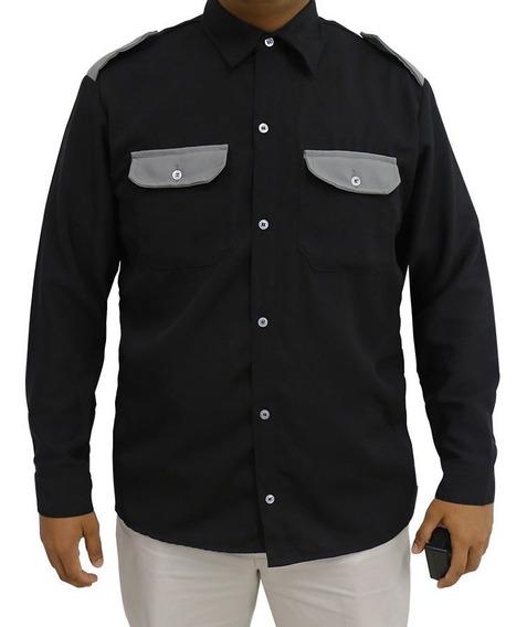 3 Camisas Camisola Guardia De Seguridad