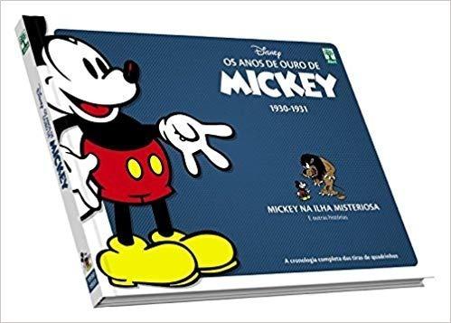 Os Anos De Ouro De Mickey. De 1930 A 1931. Capa Dura. Luxo.
