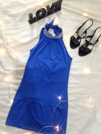 Vestido Corto Stras