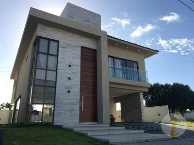 Casa Com 4 Dormitórios À Venda, 305 M² Por R$ 1.350.000 - Intermares - Cabedelo/pb - Ca1481
