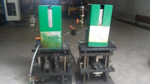 2 Punzonadoras Oemme Para Perfileria Aluminio Made In Italy