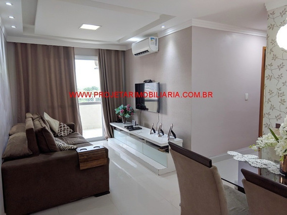 Prata/n.iguaçu, Apartamento 2 Quartos, Varanda, 2 Banheiros, Garagem, Lazer Completo, Próximo Ao Posto 13 - Ap00283 - 34040905