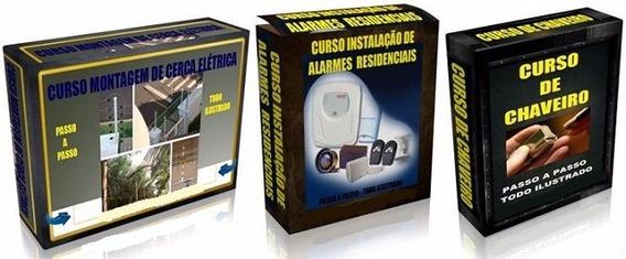 Curso De Chaveiro - Cerca Elétrica E Alarme Residêncial