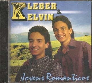 Cd Kleber E Kelvin - Jovens Romanticos ( Irmaos Gemeos)-novo