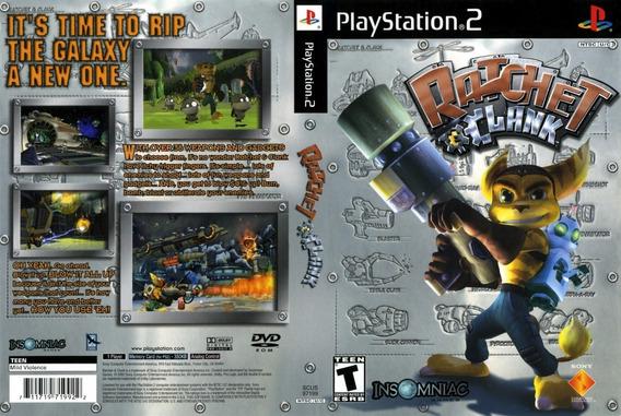 Jogo Ratchet Clank Para Ps2 Novo E Lacrado Original