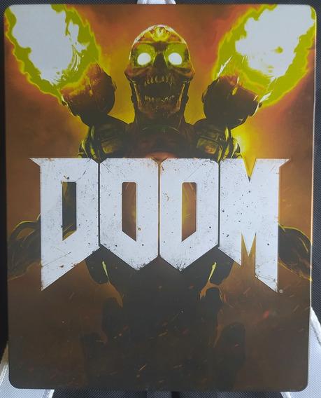 Doom 2016 Steelbook Collector Case Metal