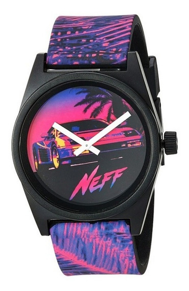 Relógio Neff Daily Wild Neon Palm