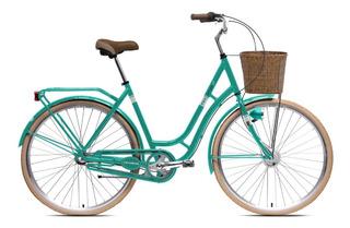 Bicicleta Paseo Teknial Vintage Lady 3 Velocidades