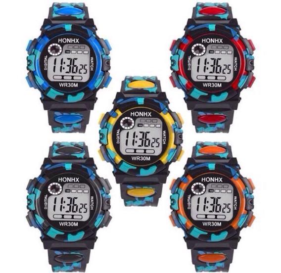 Relógio Digital Para Meninos E Meninas
