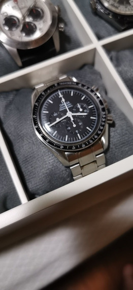 Relogio Omega Speedmaster Moonwatch Cal 1861 42mm Completo