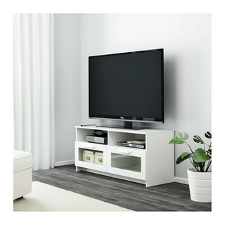 Ikea Brimnes Mueble Tv Pantalla Plana En Blanco Envio Gratis