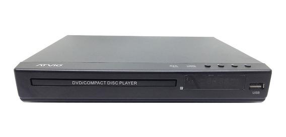 Reproductor Dvd Atvio Con Usb Hdmi