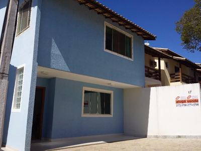 Excelente Casa Duplex Em Condomínio Fechado Para Venda E Locação, Granja Dos Cavaleiros, Macaé. - Ca1101