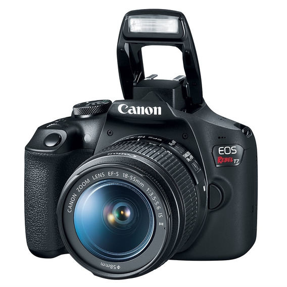 Câmera Canon Rebel T7 18-55mm Garantia Brasil 12x S/juros