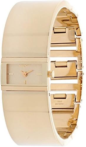 Relógio Original Dkny Dourado Estilo Bracelete  Frete Grátis