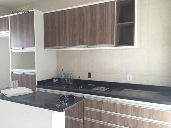 Apartamento Com 2 Dormitórios Para Alugar, 72 M² Por R$ 1.600/mês - Loteamento Guacu Parque Real - Mogi Guaçu/sp - Ap0130