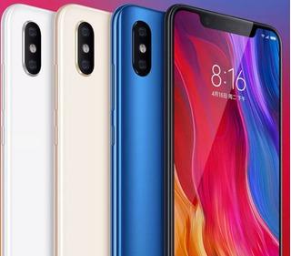 Xiaomi Mi 8 6 Gb Ram 128 Gb Rom + Mica De Cristal Y Funda