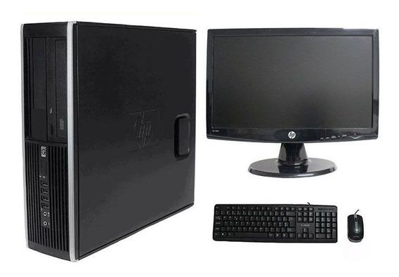 Computador Hp Elite 8200 I5 4gb 500gb Monitor 18,5 Polegadas