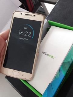 Celular Smartphone Motorola Moto G5 Dual - Ouro - 32gb