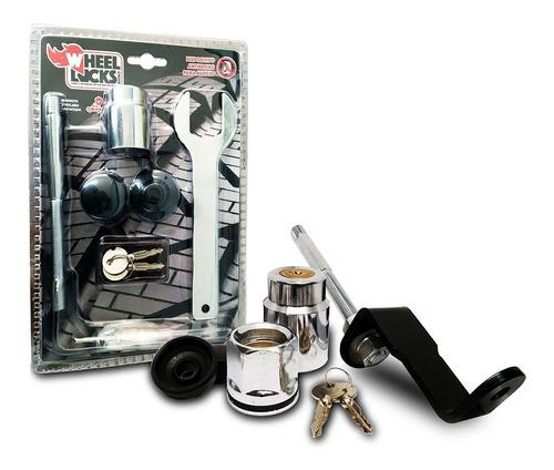 Imagen 1 de 7 de Kit De Seguridad Antirrobo Para Auxilio Amarok Wheel Locks