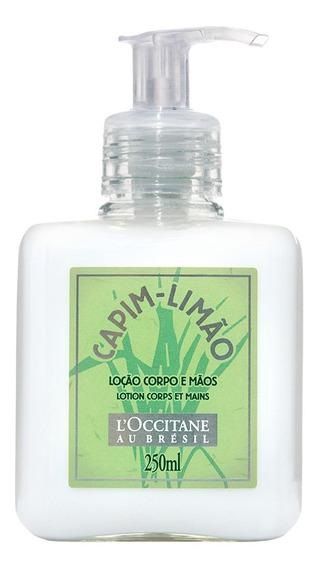 Loção Corporal E Mãos Loccitane Capim-limão 250ml
