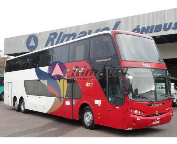 Ônibus Rodoviario Dd Busscar Scania 380 Ano 2007 57 Lugares.