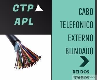Cabo Telefonico Blindado Externo 50x100 Pares Com 30 Metros