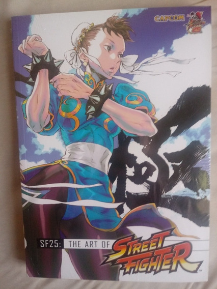 Street Fighter: The Art Of Sf25 Years