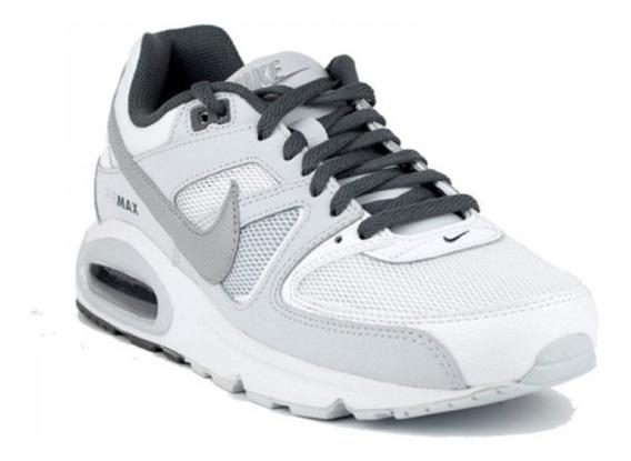 Zapatillas Nike Air Max Command Blancas 629993-107 En Cuotas
