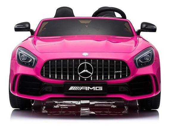 Auto A Bateria Mercedes Benz Amg Rosa R/control High Quality