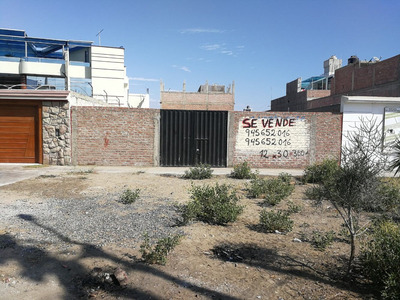 Vendo Terreno Nuevo Chimbote 360mt2 Frente A Parque