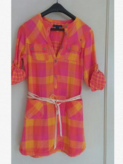 Vestido Infantil Tommy Hifilgertam 12
