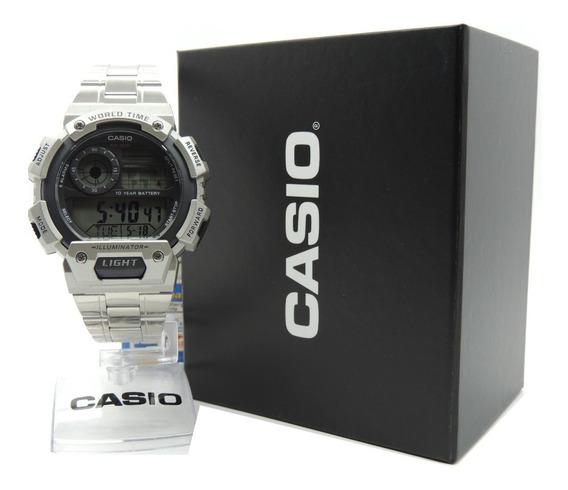 Relógio Casio Ae-1400whd-1avdf - Hora Mundial - Nf